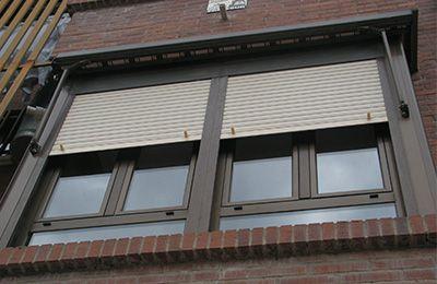 cambiar las ventanas. Aluminio